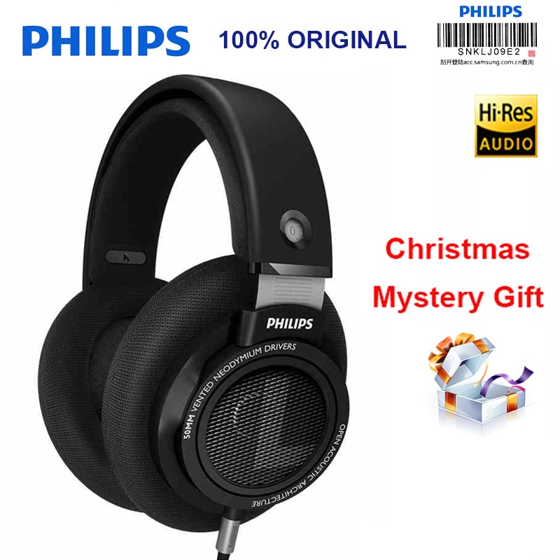 Original Philips SHP9500 Professional Headphones with 3 meter long headset for Xiaomi Huawei Samsung MP3 Support Official Test