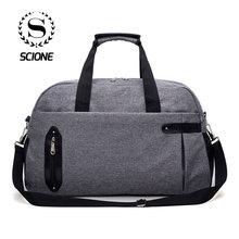 Scione Travel Luggage Sports Suitcase Men Large Capacity Duffel Shoulder Crossbody Bags Women Casual Outdoor Weekend Handbag