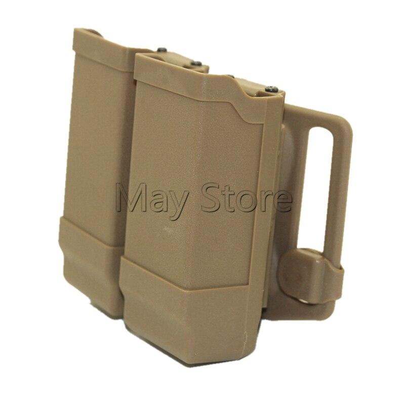 Cinturón táctico pistola revista bolsa caza cintura plataforma de pala accesorios para pistola Mag bolsa para CQC Gl 17 19 22 23