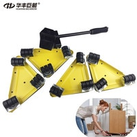 Furniture Mover Dolly Trolley Transport Removal Set Heavy Duty Lifter Wheel Move