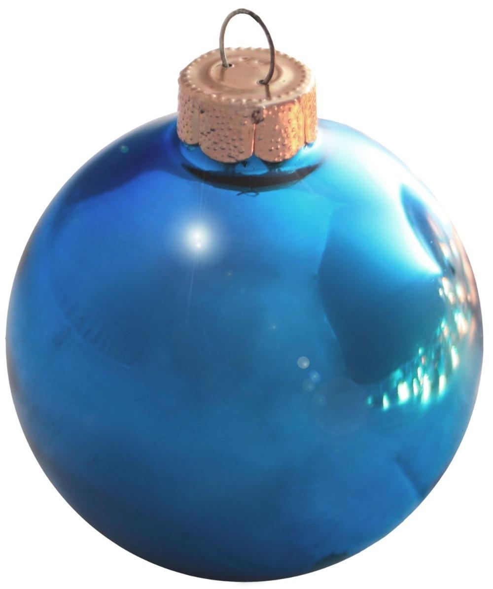Personalizado aceptar-proveedor de bodas y fiestas Navidad Bola de árbol de Navidad decoración 80mm Teal Ball Ornament Shiny