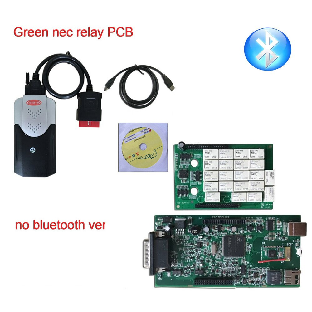 Двойной зеленый NE-C PCB vd tcs cdp pro plus tcs Bluetooth 2015,3 keygen или 2016. R0 электронная почта активирует автомобили Грузовики диагностический инструмент