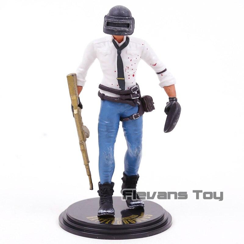 Playerunknown der Schlachtfelder PUBG Männer/Frauen SPIEL/SCHLACHT ROYALE PVC Action Figure Sammeln Modell Spielzeug