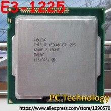 Original Intel Xeon E3-1225 CPU Prozessor E3 1225 3,10 ghz 6 mt LGA1155 Desktop Freies verschiffen schiff heraus innerhalb 1 tag