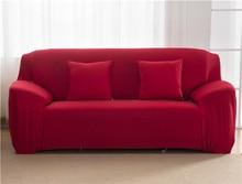Housse de canapé moderne couleur unie   Élastique, pour salon, housse dangle de canapé, protecteur de canapé, housse de chaise 1/2/3/4 places