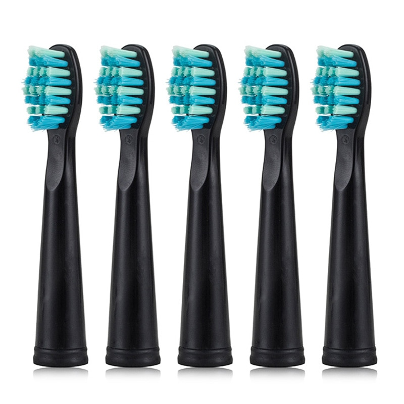 5pcs/set Seago Toothbrush Head for SG-507B/908/909/917/610/659/719/910/949/958 Toothbrush Electric Replacement Tooth Brush Head