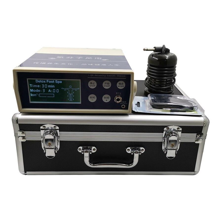 Medidor de desintoxicación iónica para baño de pies con burbujas, salud del pie, Spa terapéutico, máquinas de desintoxicación y desintoxicación de células de pies con burbujas