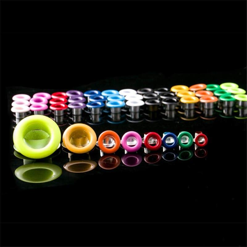 Разноцветные петельки для одежды DoreenBeads из металлического сплава, ушко для скрапбукинга, внутренний диаметр. Аксессуары для шитья рукодели...