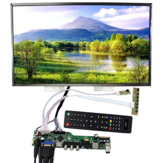 "kit for B154PW04 V0 Controller driver board TV AV USB HDMI-compatible LCD LED 15.4"" 1440X900 VGA remote 40pin LVDS Panel Screen"
