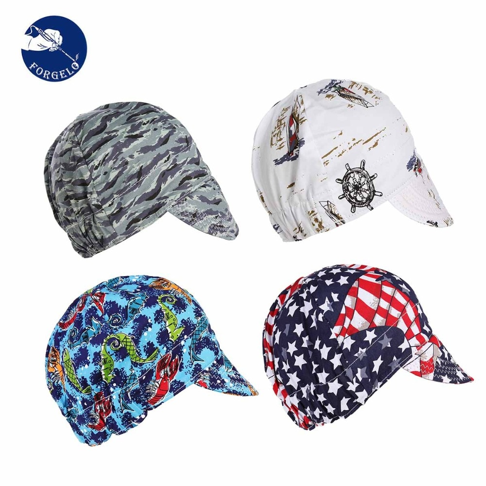 Cotton Sweat Absorption Welding Cap Hat Application to Welding Protection Workplace Safety Supplies Protective Welding Helmet