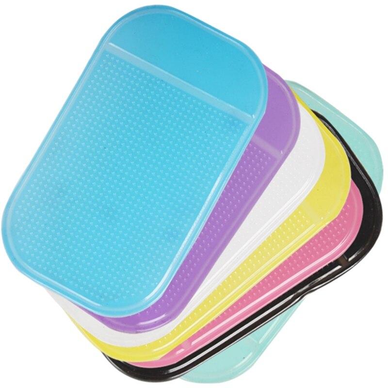 Alfombra funcional antideslizante y súper adhesivo para teléfono móvil, gafas, tarjetas, papel y 7 colores opcionales
