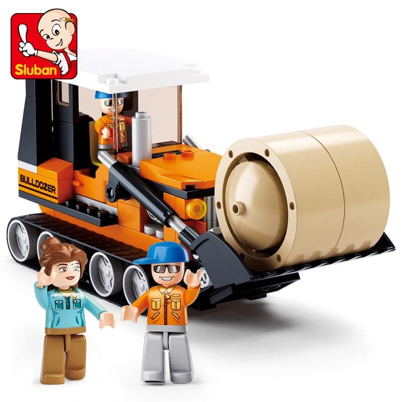 Bloques de construcción Sluban De La Ciudad pasto de granja Carrier 165 Uds Ladrillos educativos juguete-sin venta al minorista caja