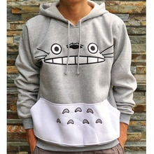 Thicken New Fashion Men/women Cartoon Totoro Hoodie Unisex 3d Sweatshirt Harajuku Animal Patchwork 3d Pullover Hoodies Tops