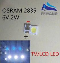 1000pcs OSRAM LED Backlight High Power LED 1.5W 6V 1210 3528 2835 131LM Cool white LCD Backlight for TV TV Application