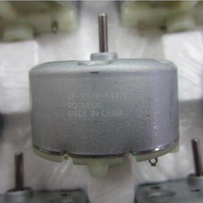 """RF-500TB-12560/14415 VCD DVD 3700 סל""""ד 6V מומנט גבוה צילינדר חשמלי מיני מנוע DC"""