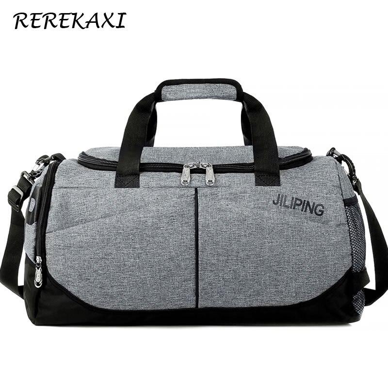 Men Travel Bag Women Large Capacity Luggage Handbag Male Canvas Duffle Bag Travel Female Shoulder Bags Foldable Luggage Bags