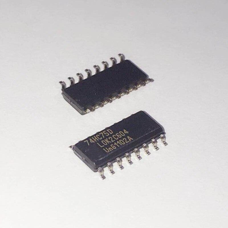50 piezas 74HC75D 74HC75 SOP-16 3,9 MM marca original nuevo chip IC