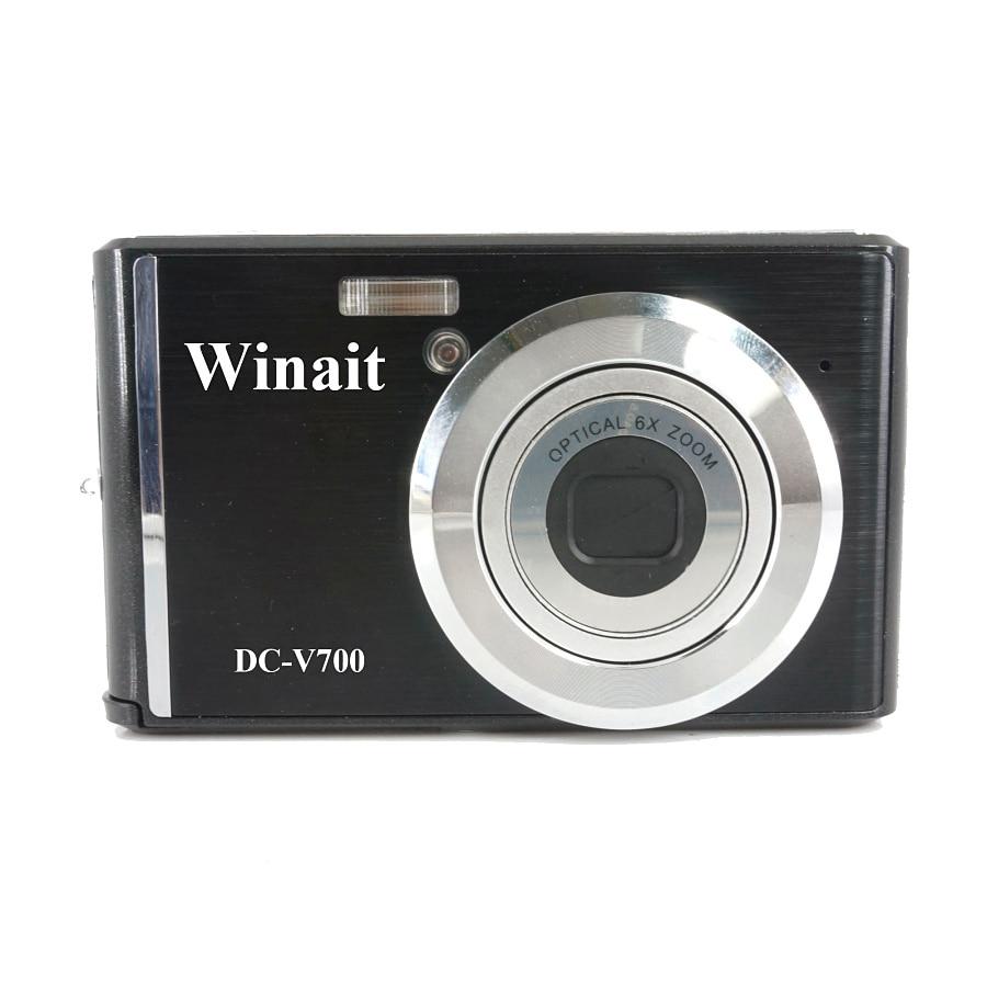 "Winait se digital cámara Full HD 1080P 3x zoom óptico 2,4 ""Pantalla TFT LCD"