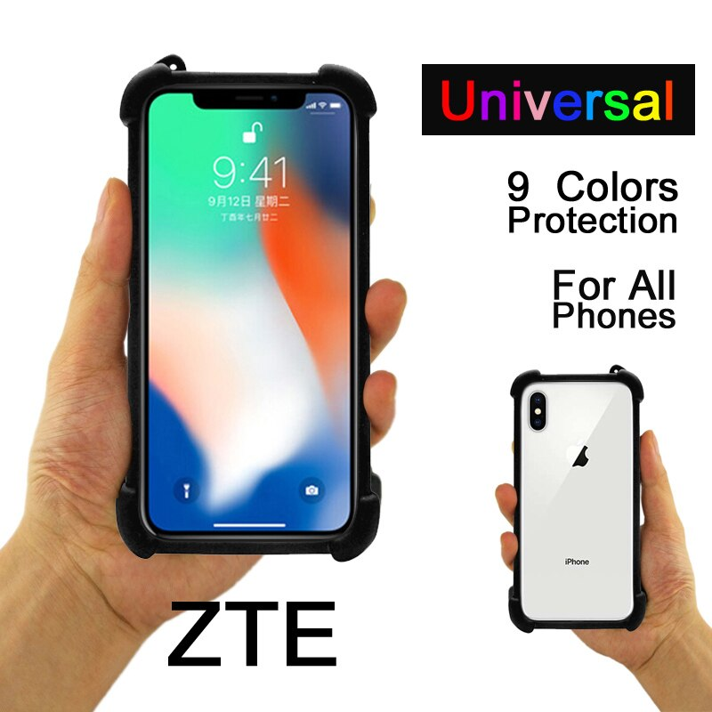 ZTE Blade A6 Lite caso Universal mínimo caso ZTE Blade A510 A512 A520 cubierta de silicona suave ZTE Blade X7 L3 L7 caso