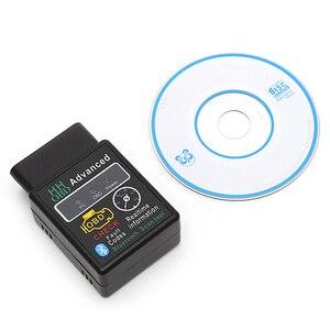 Image 1 - Диагностический сканер автомобильного интерфейса V2.1 OBD 2 OBD II, диагностические инструменты для обслуживания автомобиля Android 2017