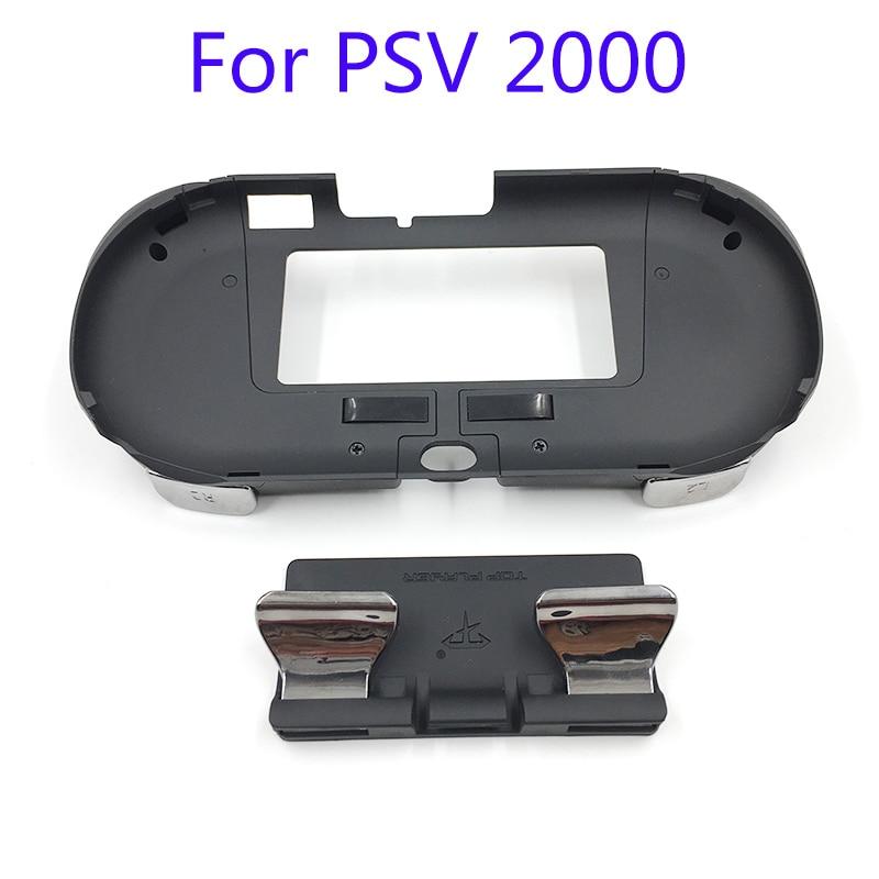 وحدة تحكم ألعاب L3 R3 مع زر الزناد ، حافظة مقبض يمين لـ PSV 2000 PSV2000 PS VITA 2000 Slim