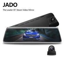 JADO D230 X1 flux rétroviseur Dvr dash caméra avtoregistrateur 10 IPS écran tactile HD 1080 P voiture Dvr dash cam Vision nocturne