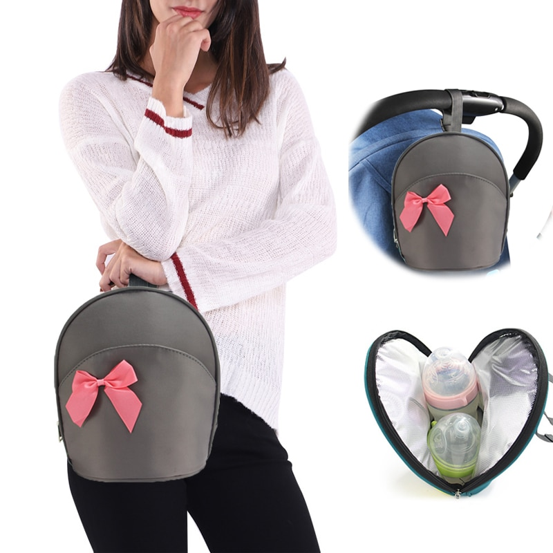 SeckinDogan Fashion Baby Food Thermal Bag Newborn Baby Feeding Bottle Keep Fresh Insulation Bags Mot