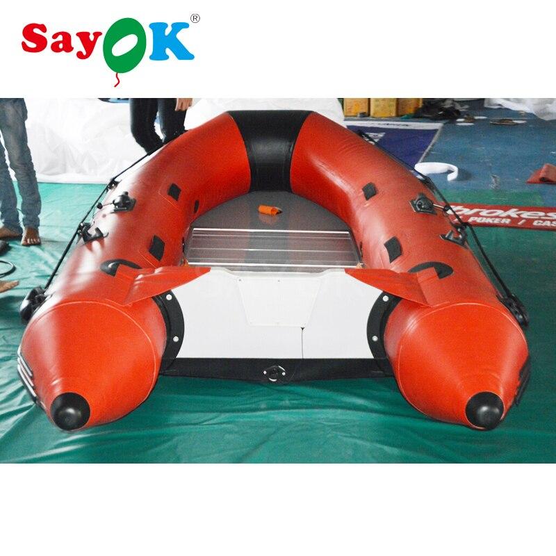 Barco inflável inflável barato do barco de caiaque barco à deriva inflável piso de alumínio do barco 4 pessoa