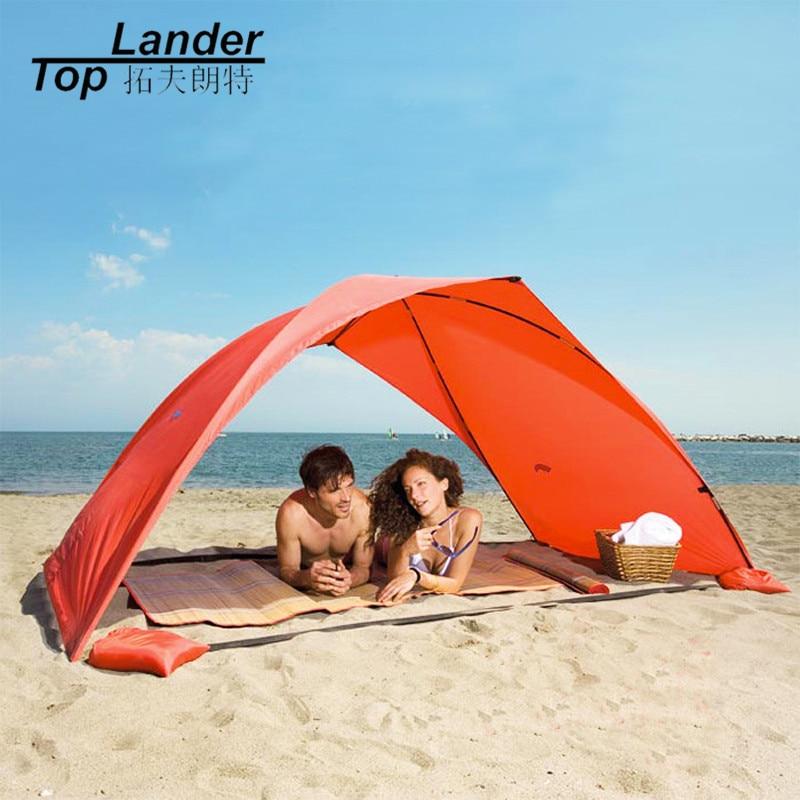 Portable Beach Tent Cabana Sun shade Canopy Fishing Shelter Tents Awning Sunshade Strandtent Summer UV Beach Umbrella Tent