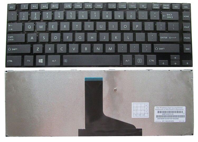 SSEA envío gratis nuevo teclado de EE.UU. para Toshiba Satellite L800 L805 C800 L830 M800 M805 L830 C805 L840 L845