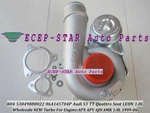 Turbocompresseur pour Audi S3 TT Qua ttro pour Seat LEON   K04 53049700020 53049880020 T 99-06 APX APY AJH AMK 210HP