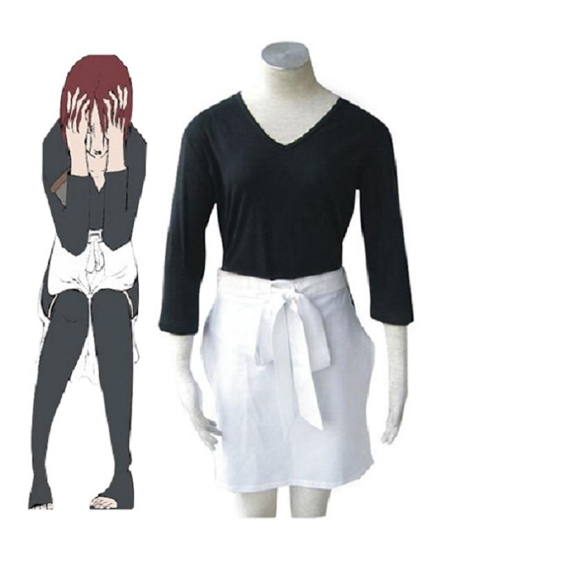 High-Q Unisex Anime porque Naruto Rin Cosplay traje