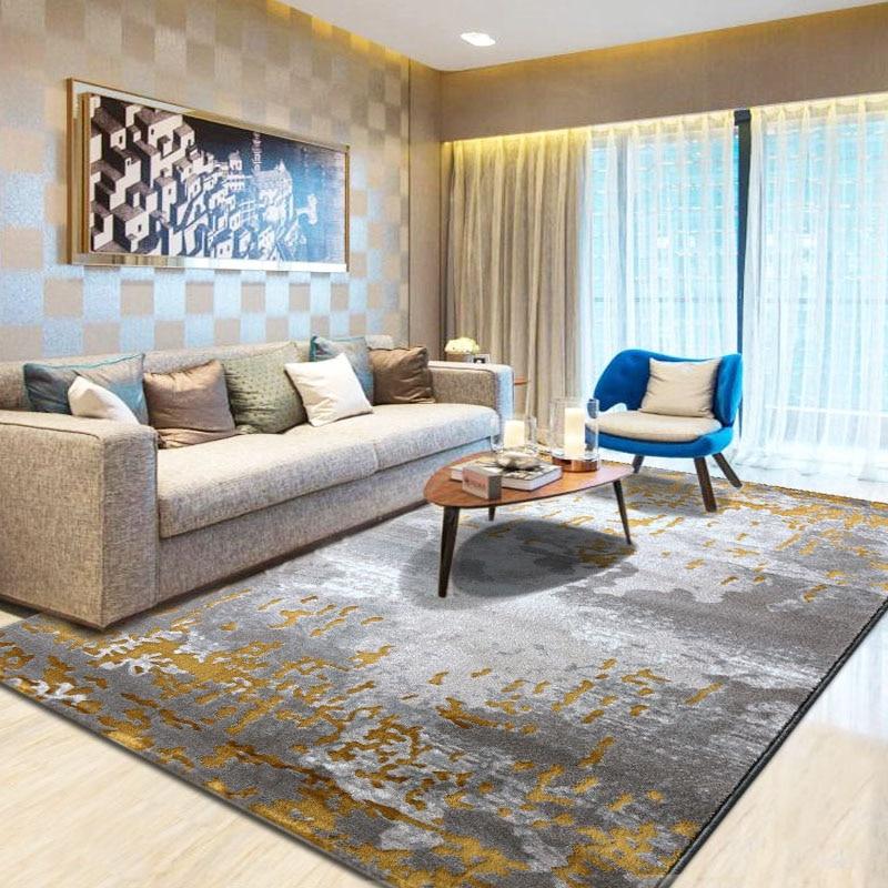 الشمال الفن التجريدي سجاد و السجاد ل غرفة المعيشة الطابق منطقة البساط لغرفة النوم 3D السجاد غرفة الاطفال الديكور معيشة tapis