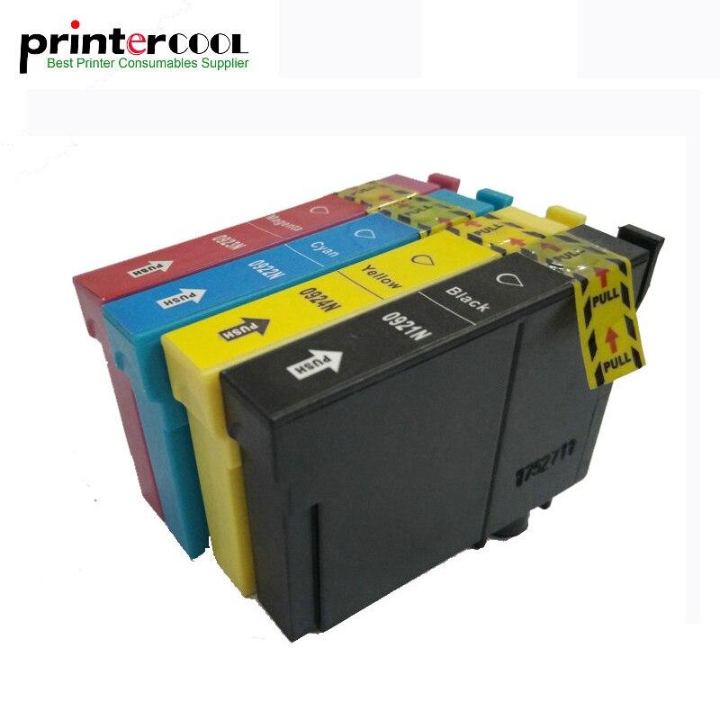Einkshop 1 Conjunto T0921 T0921N Cartucho de Tinta Compatível Para Epson Stylus CX4300 TX117 T26 T27 TX106 TX119 TX109 Impressora T0921-T0924