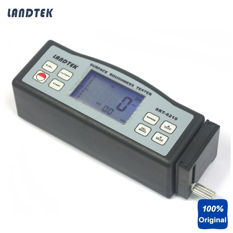 الرقمية Profilometer المحمولة أداة قياس خشونة الأسطح SRT-6210
