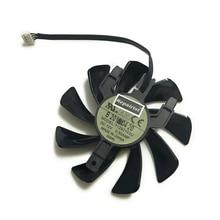 Кулер для видеокарты Sapphire RX 570 GPU, вентилятор для Видеокарты Radeon sapphire RX570 ITX, Система Охлаждения видеокарты, замена