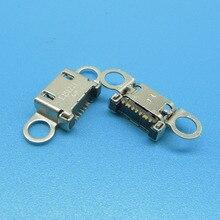 삼성 S6 /S6 가장자리 S6 가장자리 + 플러스 G920 G920F G925 G925F G928 충전 도크 독 포트 마이크로 USB 커넥터 잭 소켓에 대 한 50pcs