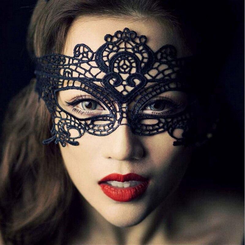 Vestido atractivo del cordón de la manera del tocado del cordón de la manera de la joyería para las mujeres las correas bilaterales Halloween tocado para las muchachas