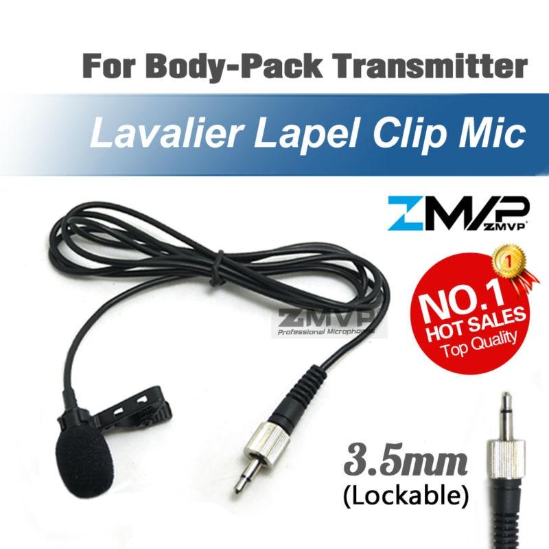 Профессиональный петличный зажим для галстука микрофон Микрофон конденсаторный микрофон для Sennheiser беспроводной передатчик бодипака 3,5 мм запираемый