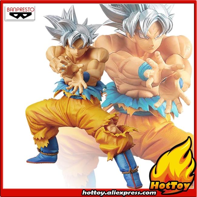 "100% Original Banpresto DXF THE SUPER WARRIORS SPECIAL Collection Figure - Son Goku Ultra Instinct From ""Dragon Ball SUPER"""