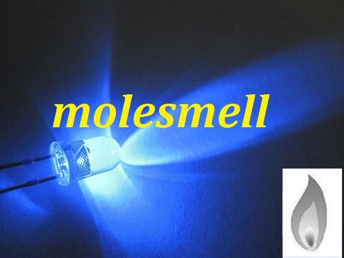 Бесплатная доставка 1000x5 мм синий светильник в форме свечи мерцающий ультра яркий Мерцающий СВЕТОДИОДНЫЙ светодиодный s