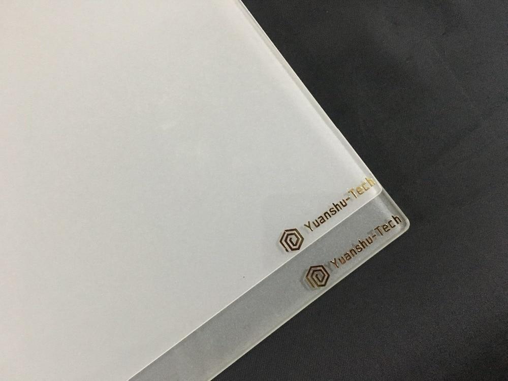 Raise3D pro2 340x332x3 мм 3d принтер сборка пластины матовое боросиликатное стекло лучшее сцепление
