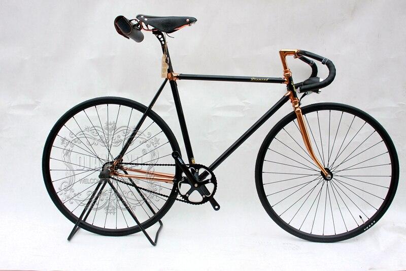 Vintage bicicleta de carretera, piñón fijo, bicicleta 700C, bicicleta de marcha única 700C, bicicleta Vintage