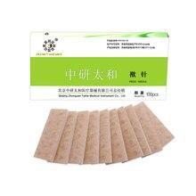 100 teile/los Zhongyan Taihe Akupunktur drücken Nadel einweg sterile ohr drücken nadeln ohr massage gips embedded ohr nadel