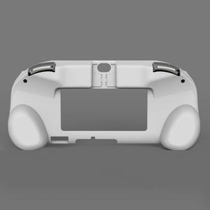 Image 3 - MASiKEN чехол с держателем для ручки подходит для PS Vita 2000 PSV 2000 сменный обновленный триггерный захват L2 R2 игровые аксессуары