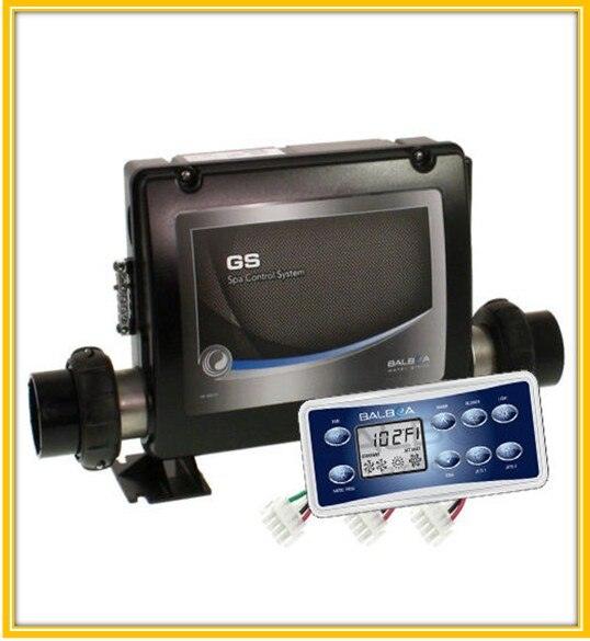 Balboa Control box pack GS523DZ + display panel VL801D whirlpool spa controller fit spas mit 2-3 jet pumpe