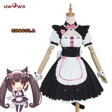 UWOWO Chocola NEKOPARA Cosplay Chocola vanille robe de chambre déguisement chat Neko fille NEKOPARA Cosplay femmes déguisement jeu