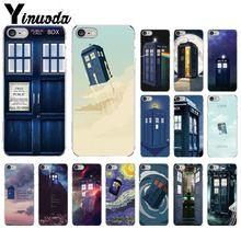 Yinuoda Tardis docteur Dr Who Police boîte bricolage étui de luxe pour Apple iPhone 8 7 6 6S Plus X XS MAX 5 5S SE XR couverture Mobile