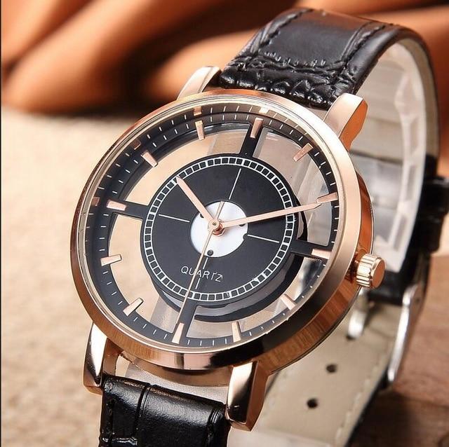 Top Luxury Brand Leather Quartz Watch Women Ladies Fashion Bracelet Wrist Watch Wristwatches Clock f