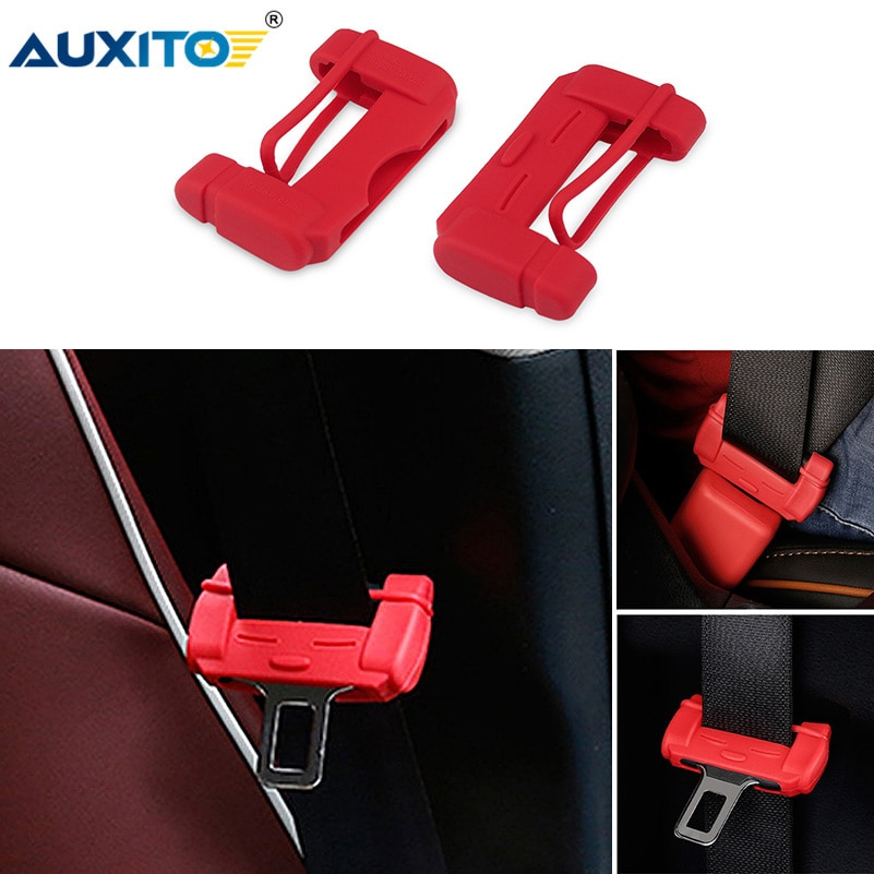 Auxito estilo do carro cinto de segurança fivela capa para vw passat b5 b6 cc golf 4 5 6 7 jetta mk6 mk4 mk5 polo 6r tiguan gti acessórios